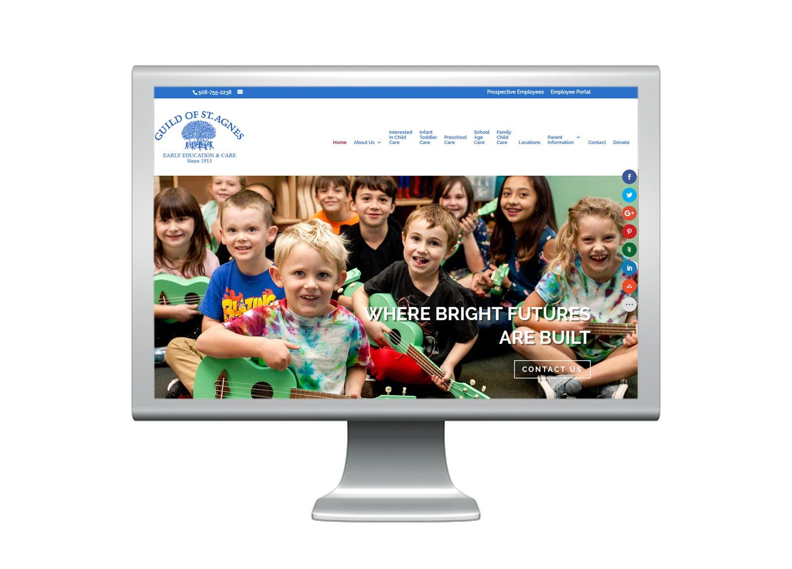 Client Web Design - Bristow Electric